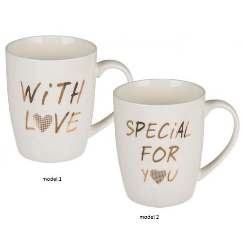 Cana ceramica cu mesaj sentimental