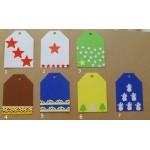 Cartonase pentru cadourile de Caciun ( Christmas tag)
