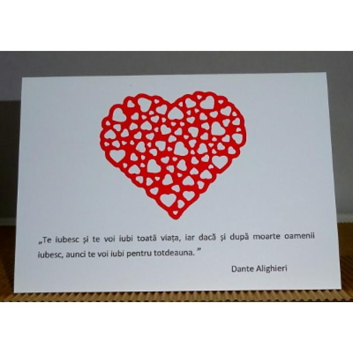 citate despre inima Felicitare pentru indragostiti cu inima decupata si citate celebre  citate despre inima